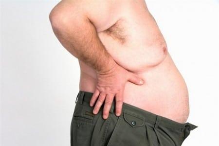 Мужчина с ожирением