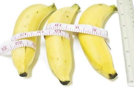 Бананы и линейка