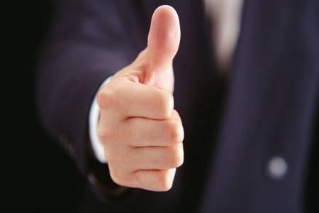 палец вверх