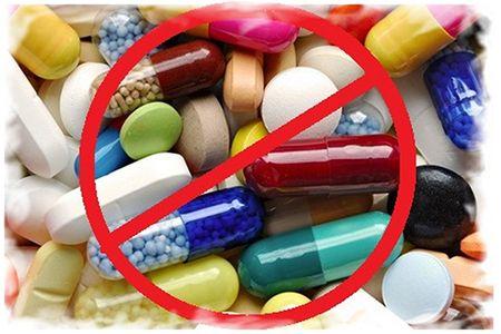 таблетки под знаком запрета